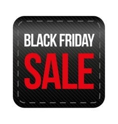 Black Friday Sale button vector image