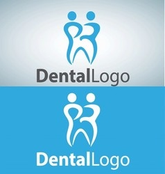 dental logo 15 vector image