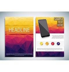 Realistic smart phone eps 10 vector image