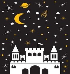 castle noc2 vector image vector image