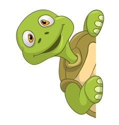 Funny turtle vector