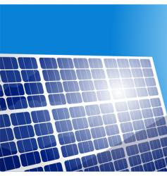 solar panels vector image vector image
