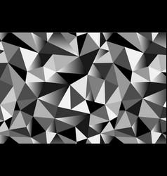 Abstract grey geometric triangular seamless low vector