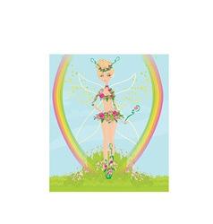 Cartoon fairy design vector