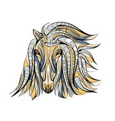 Ethnic horse vector