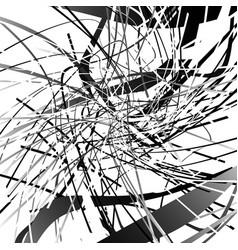 monochrome geometric contemporary art piece vector image