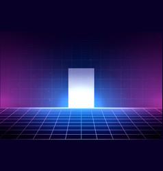 Grid Neon Vaporwave Vector Images Over 210