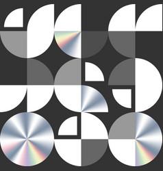 swiss modernism geometric seamless pattern vector image