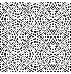 Optical art abstract seamless pattern vector