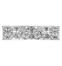 Banner is a contains floral arrangements in this vector