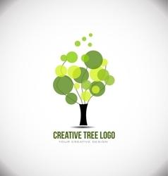 Creative tree concept logo icon design vector