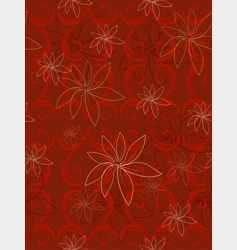 flowers vanilla vector image