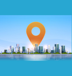 Geolocation pin geo tag icon destination vector