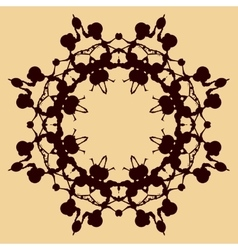 Rohrschach Print Synnetry Decoration vector