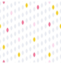 Simple drop polka dot shape seamless row pattern vector image