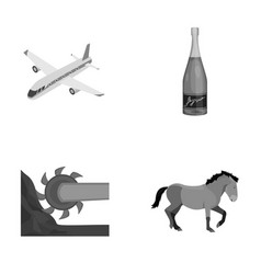 Sport celebration winemaking and other vector