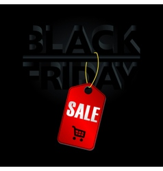 Digital black friday sale inscription vector image