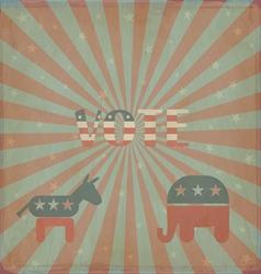 Elections in America vector