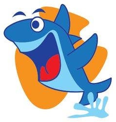 Fly Shark vector image