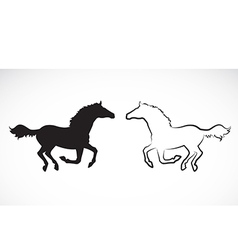 Image of an horse vector
