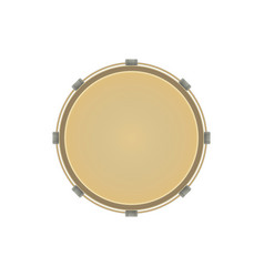 musical instrument drum icon vector image