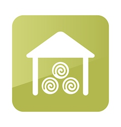 Shed icon Farm vector