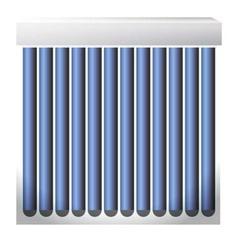 Solar heater 03 vector