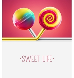 Sweet Life vector image