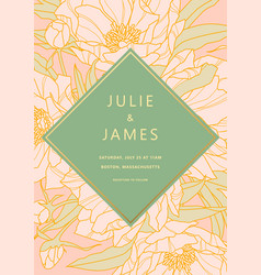 Wedding Invitation Cards Gold Vector Images Over 18000