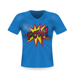 abstract modern t-shirt print design with power vector image