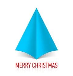 MERRY CHRISTMAS Corner paper 15 vector image vector image