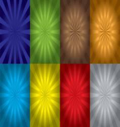 radiate variation vector image