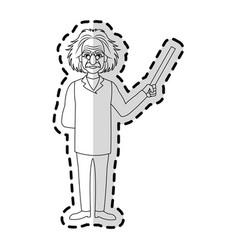 Albert einstein icon image vector