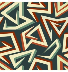 arrows pattern vector image