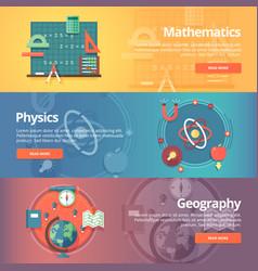 elementary mathematics basic math physics vector image