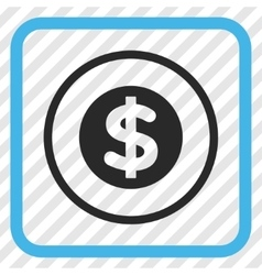 Finance Icon In a Frame vector