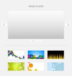 Image Slider vector image