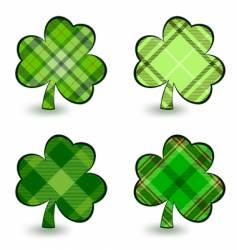 Irish clover vector