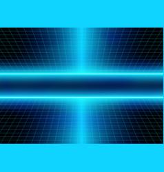 Neon lights and energy 3d glow lines vector