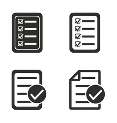Order icons set vector