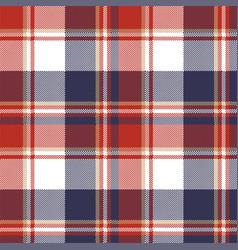 plaid textile tartan seamless pattern vector image