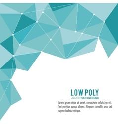 Polygonal design Geometric shape design vector