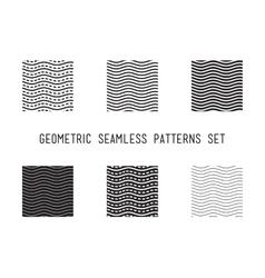 Universal lineal geometric wave seamless vector image