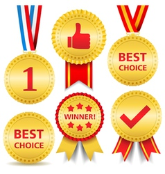 Awards vector image vector image