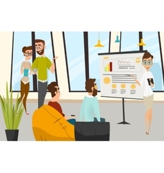 Business characters set vector image vector image