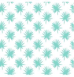 palm leaf brush seamless pattern vector image