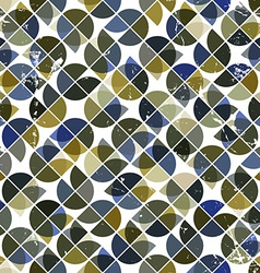 Seamless aged tiles abstract background background vector