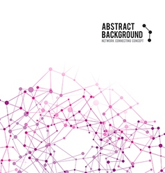 Abstract background network connect concept 003 vector