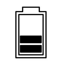 Battery symbol isolated icon vector