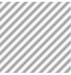 Diagonal zigzag lines with gradient fills abstract vector